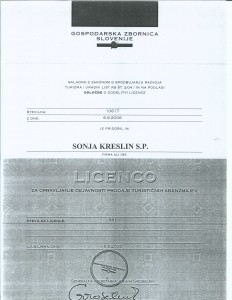 licenca prodaja